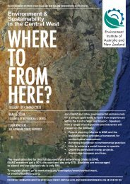 to download the flyer. - Environment Institute of Australia and New ...