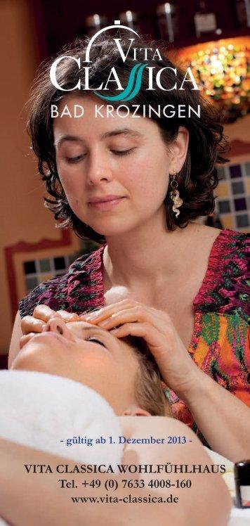 massagen - Vita Classica Therme