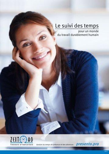 brochure presento.pro - Zeit AG