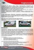 Videós megfigyelő rendszerek megoldásai. - Radarvéd Kft. - Page 2