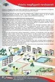 Videós megfigyelő rendszerek megoldásai. - Radarvéd Kft. - Page 4