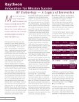 Technology Today Volumn 3 Issue 1 - Raytheon - Page 4