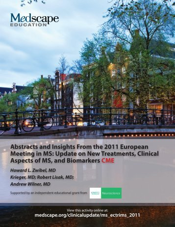 Abstracts and Insights From the 2011 European ... - Medscape