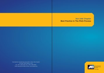 Best Practice In The Pitch Process.pdf - International Advertising ...