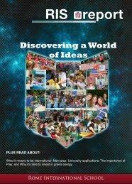 Discovering a World of Ideas - Rome International School