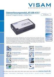 PDF Datenblatt - VISAM GmbH