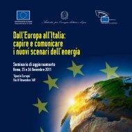 Il programma del seminario - Europa