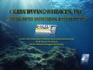 Inland - C&W Diving Services, Inc.