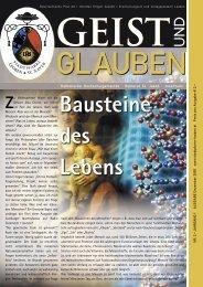 GEIST und GLAUBEN, Dezember 2005 - Montanuniversität Leoben