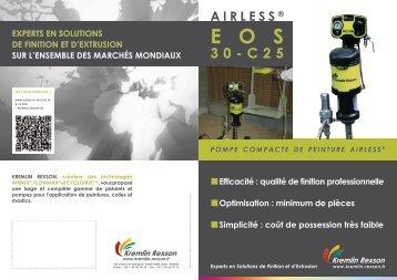 Pompe de peinture AIRLESS® EOS 30-C25 - Sames.com