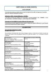 compte rendu du 9 juin 2007 - Montreuil-Bellay