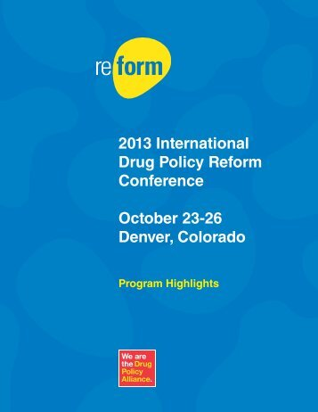 Program Highlights brochure - Reform Conference