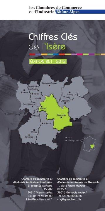 Chiffres Clés de l'Isère - CCI Grenoble