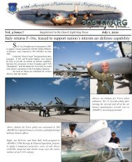 Supplement July 2010.indd - Davis-Monthan Air Force Base