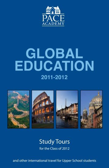 Global Education 2011-2012 - Pace Academy