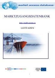 2. zolltarife - Market Access database - Europa