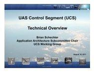 UAS Control Segment (UCS) Technical Overview - Raytheon