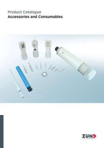 Product Catalogue Accessories and Consumables