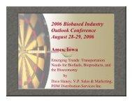 Dave Haney - Bioeconomy Conference 2009