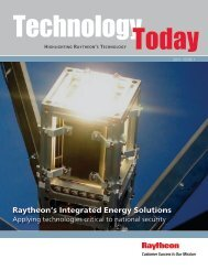 Raytheon Technology Today 2011 Issue 1