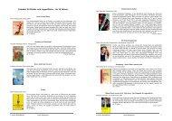 Literatur für Kinder und Jugendliche – ab 10 Jahren - Rainbows