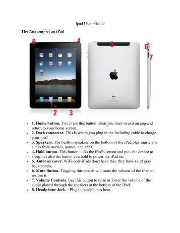 iPad Users Guide for Seniors