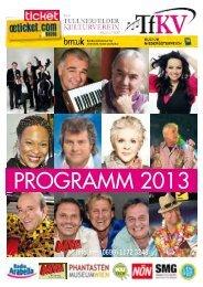 PrOgraMM 2013 PrOgraMM 2013 - Radio Arabella
