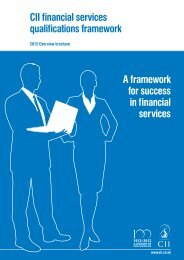 2012 Financial Services overview brochure - The Personal Finance ...