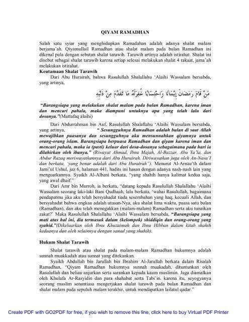 Tirmidzi pdf hadits