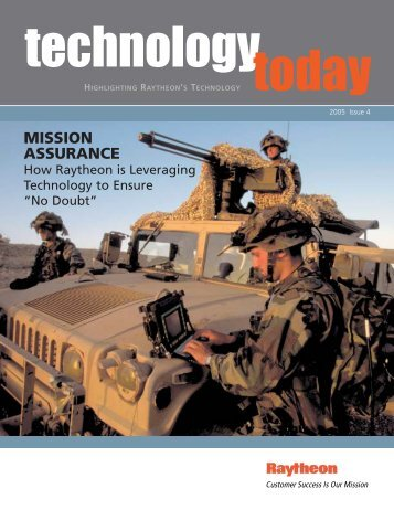 technology today 2005 issue 4 - Raytheon