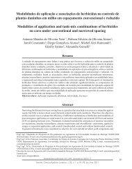 Modalidades de aplicação e associações de herbicidas no controle ...
