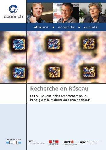 Recherche en Réseau - CCEM