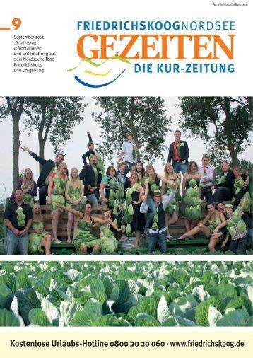 Ausgabe-September-2012 - Gezeiten Friedrichskoog