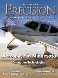 Aerospace in Minnesota - Minnesota Precision Manufacturing ...