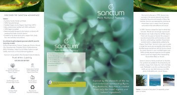 Sanctum Brochure
