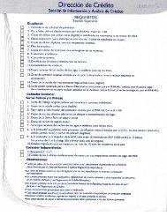 formulario de credito estudiante estudios superiores - 2012 - Ifarhu