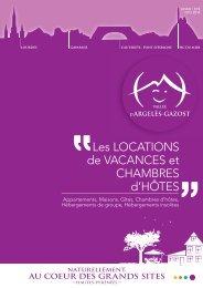 Gîtes et locations de vacances à Argelès-Gazost