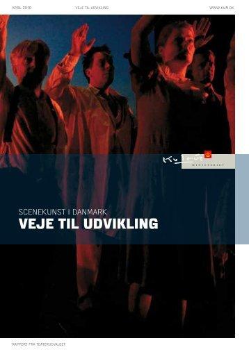 SceNeKUNST I DANMARK veje til udvikling - Kulturministeriet