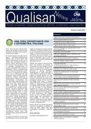 Qualisan News Luglio 2013 - CNA Emilia Romagna