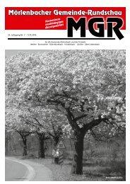 18 Uhr Sonntag, 18. April 2010, 11 - 18 Uhr - Mörlenbacher ...
