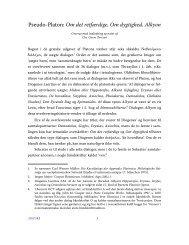 Pseudo-Platon: Om det retfærdige, Om dygtighed, Alkyon - Aigis