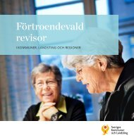 Förtroendevald revisor - Webbutik - Sveriges Kommuner och ...