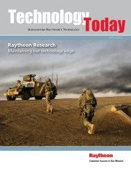 Technology Today Research Issue 2_2010 - Raytheon