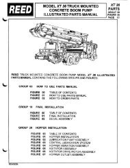 CONCRETE BOOM PUMP GROUP 00 ILLUSTRATED ... - REED