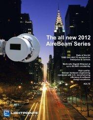LightPointe AireBeam Series 70-80 GHz Brochure ... - MForum.ru