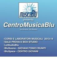 I nostri corsi - Musica Blu
