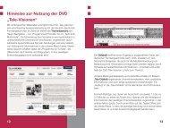 Auszug aus dem Booklet zur DVD - iMedia