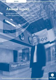 Annual Report to Parliament 2004/2005 - QSuper - Queensland ...