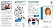Health Care Studies - Physiotherapie-Schule Konstanz