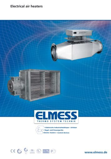 Air heater - ELMESS -Thermosystemtechnik GmbH